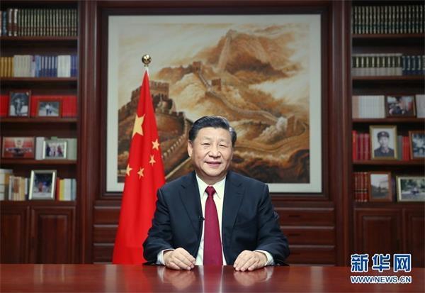 习近平:今年我国人均国内生产总值将迈上1万美元台阶